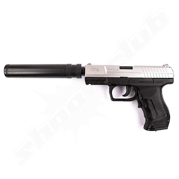 Walther P99 DAO Xtra Softair Pistole 0,5 J AEP